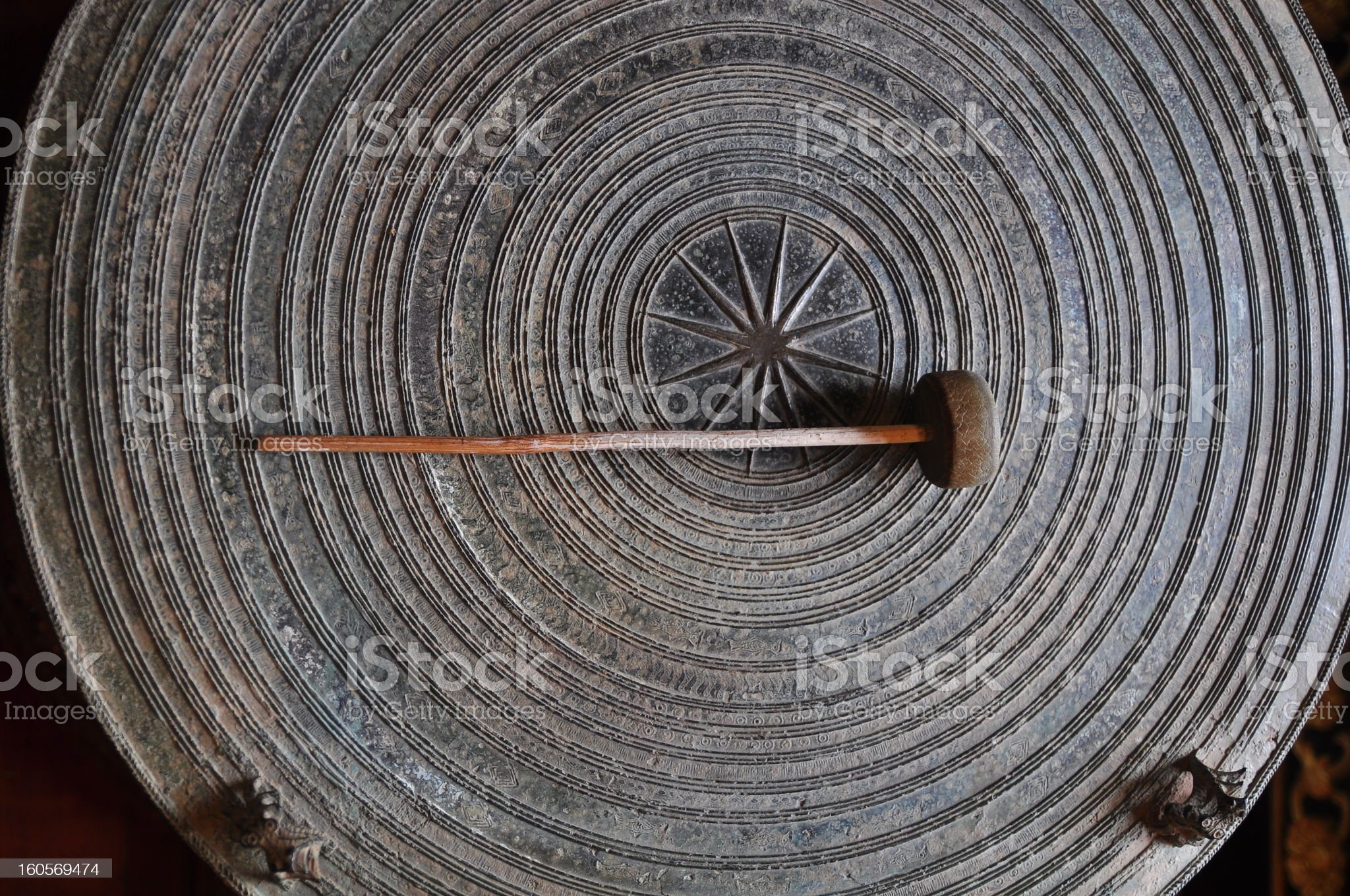 Ancient drums royalty-free stock photo