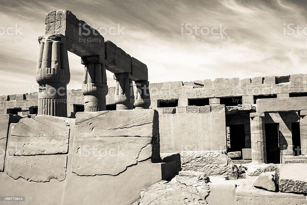 Ancient Egypt Temple stock photo