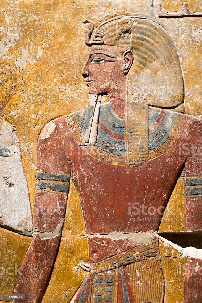 ancient Egyptian art stock photo