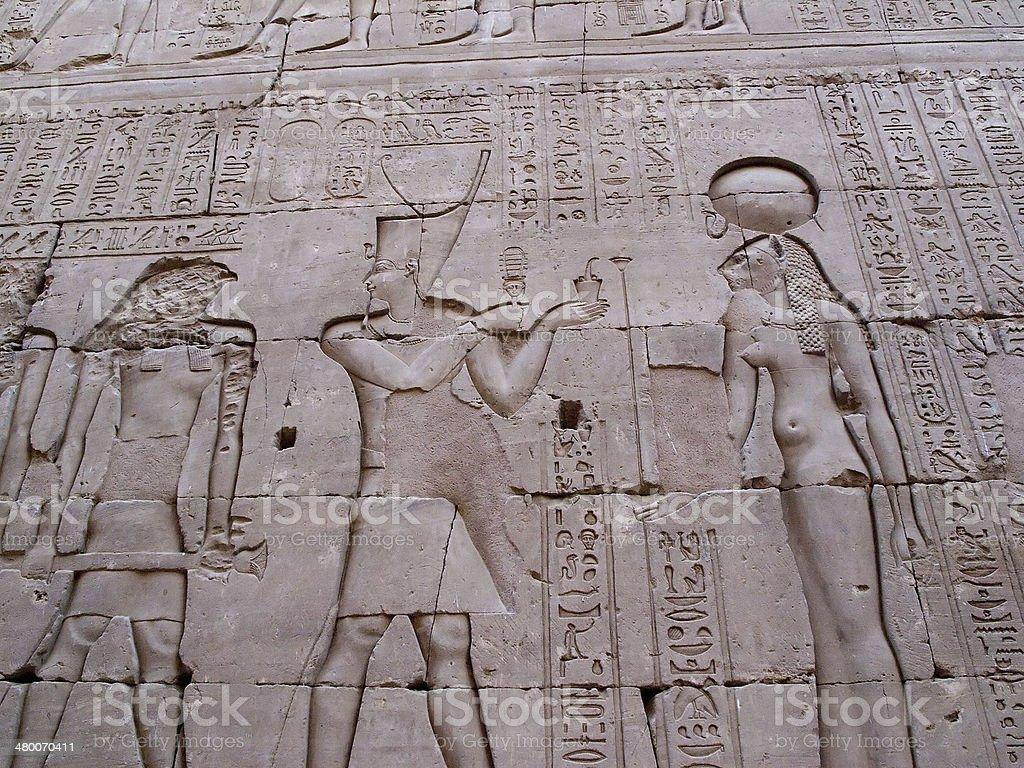Ancient Egyptian Life stock photo
