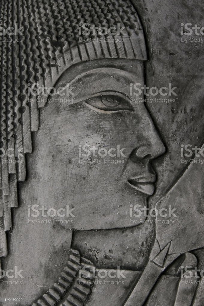 ancient egyptian royalty-free stock photo