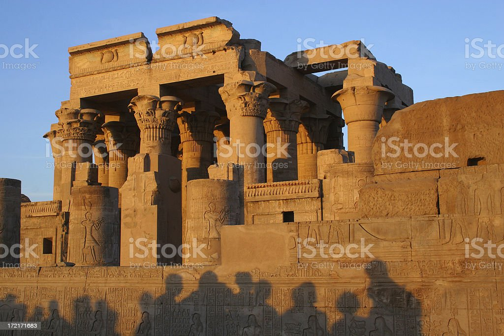 Ancient Egyptian Temple royalty-free stock photo