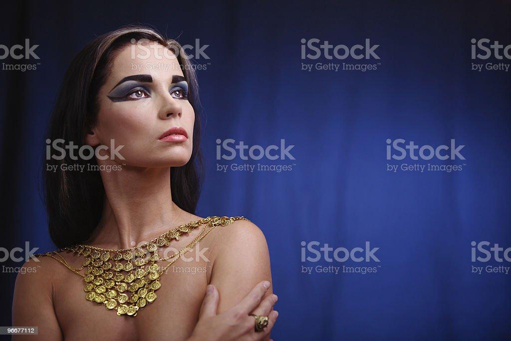 Ancient egyptian woman stock photo