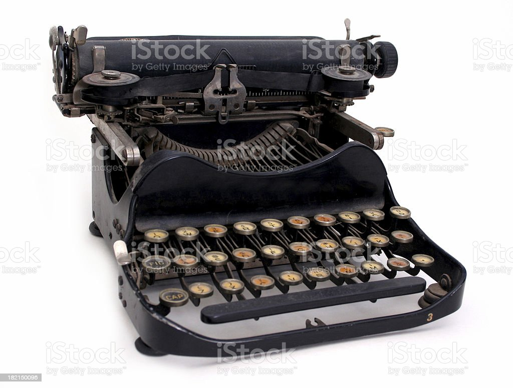 Ancient Email royalty-free stock photo