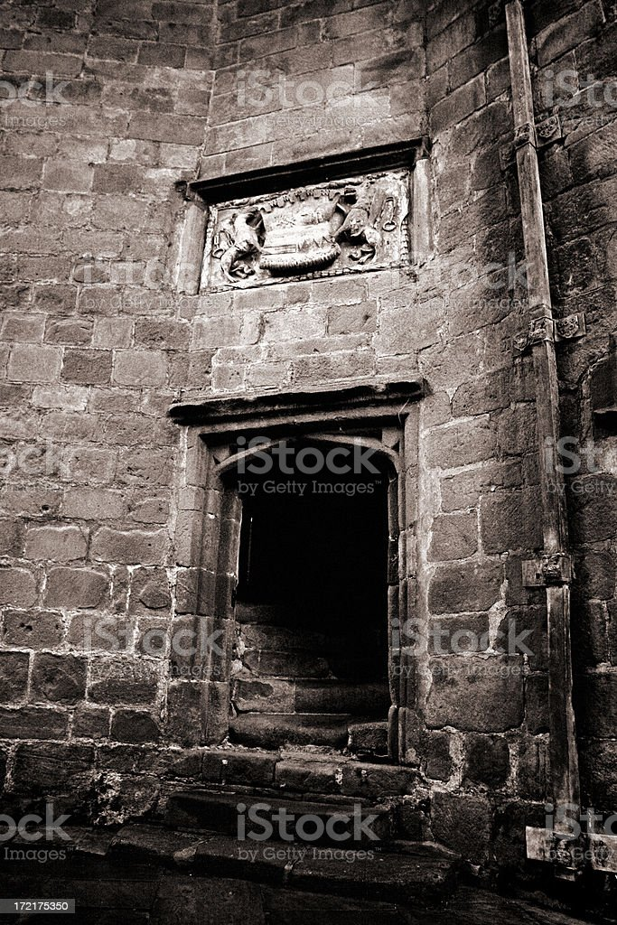 Ancient Entrance royalty-free stock photo