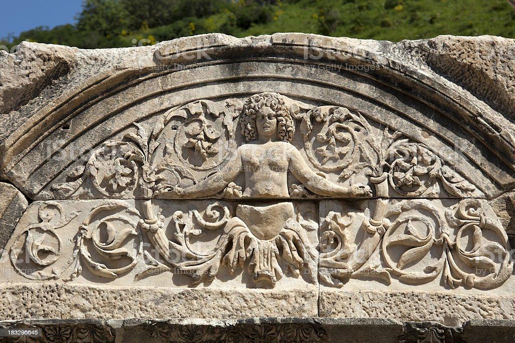 Ancient Ephesus stock photo