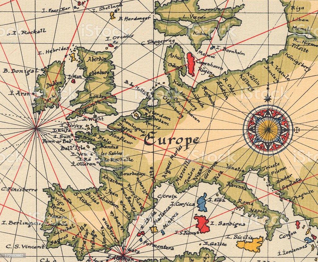 ancient europe map stock photo istock
