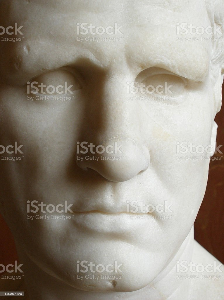 Ancient face royalty-free stock photo