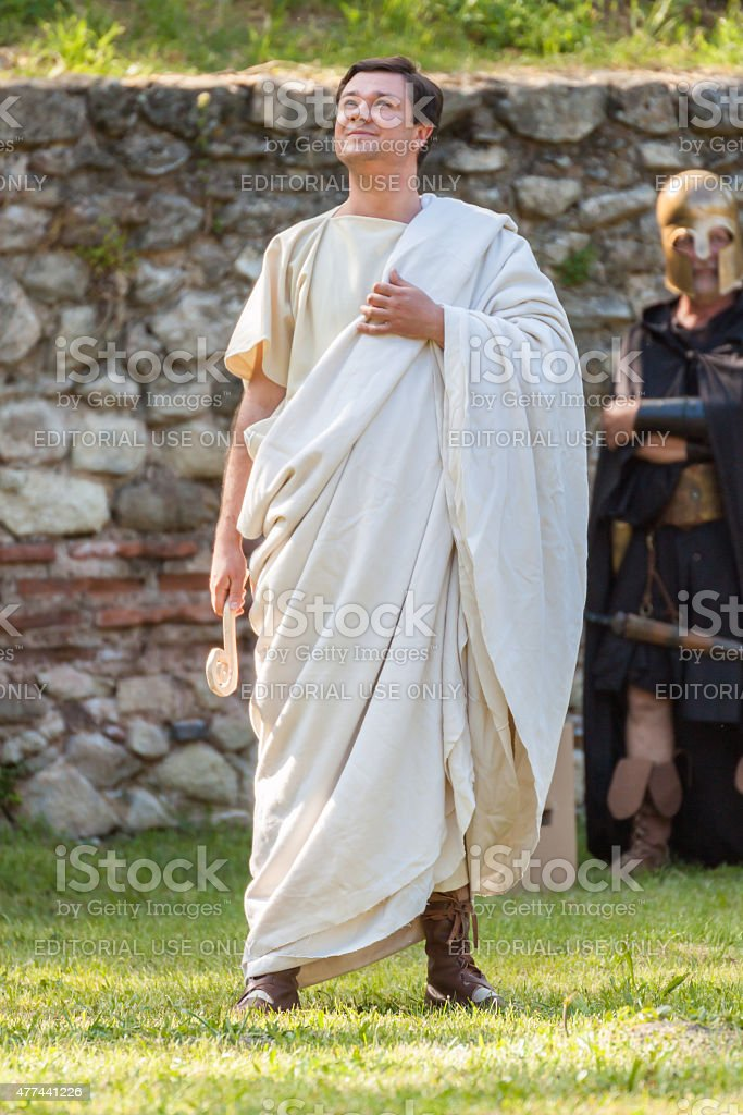Ancient Festival stock photo