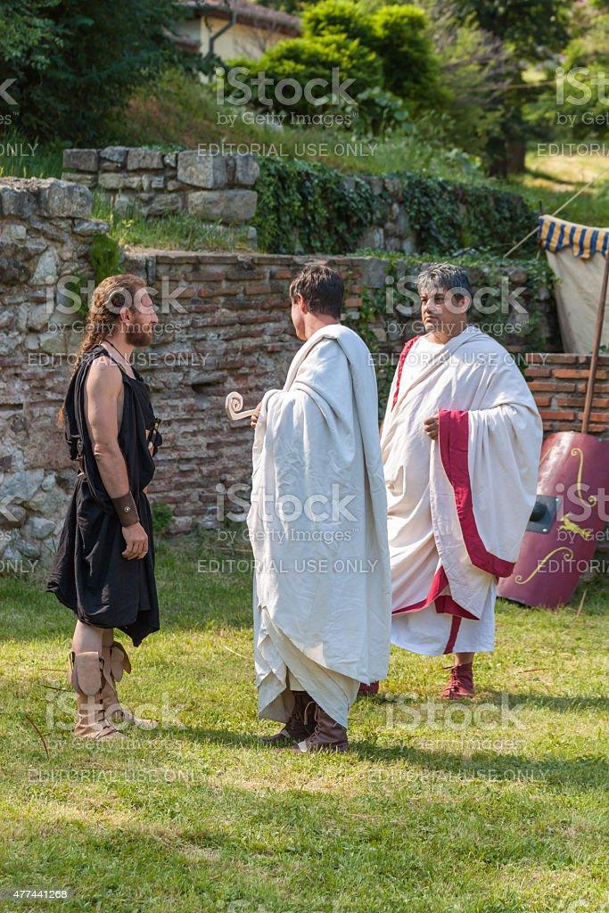 Ancient Festival stock photo