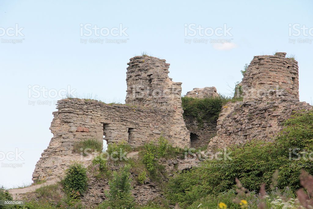 Ancient fortress royalty-free stock photo