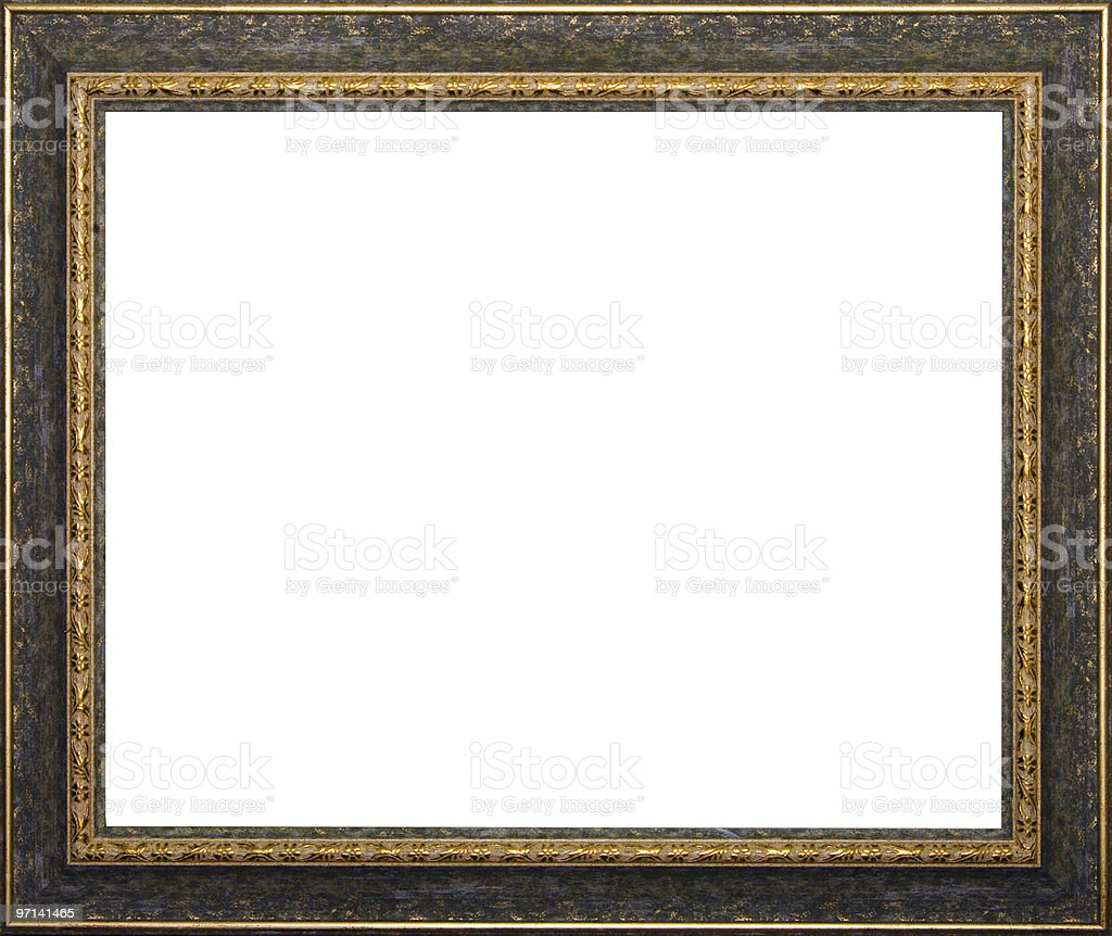 Ancient frame royalty-free stock photo