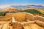 Ancient Gadara Ruins at Umm Qais in Jordan