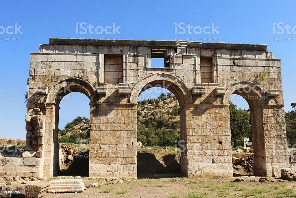 Древние ворота Стоковые фото Стоковая фотография