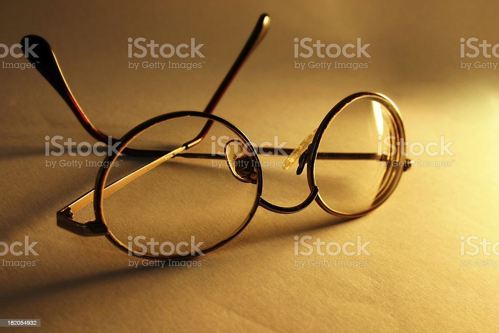 Ancient Glasses royalty-free stock photo
