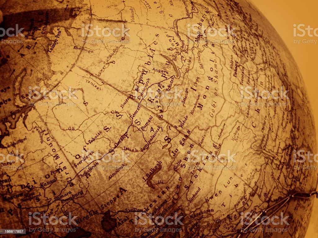 Ancient Globe stock photo
