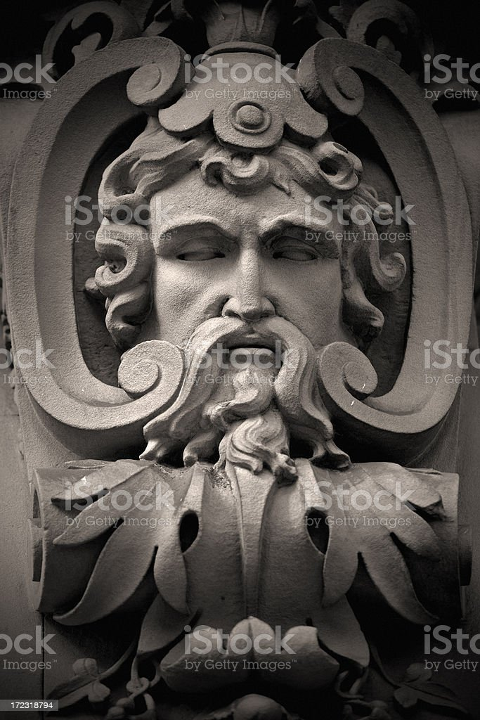 Ancient God royalty-free stock photo