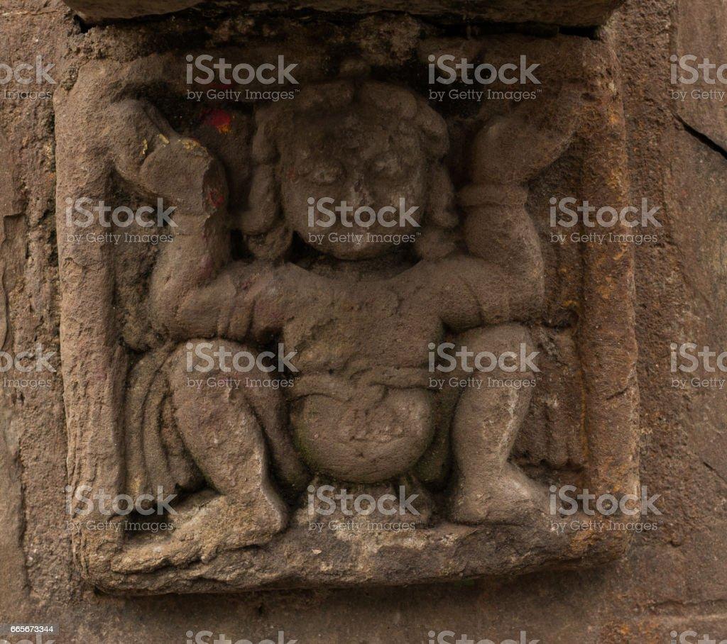 Ancient Goddess Sculpture stock photo