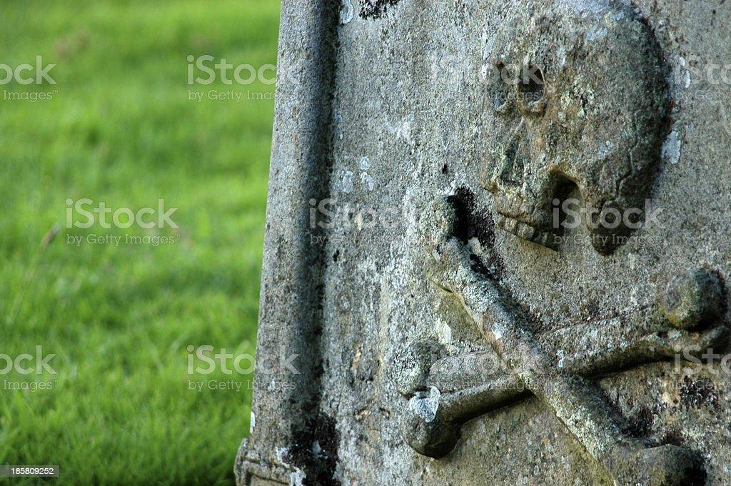 Ancient Gravestone royalty-free stock photo