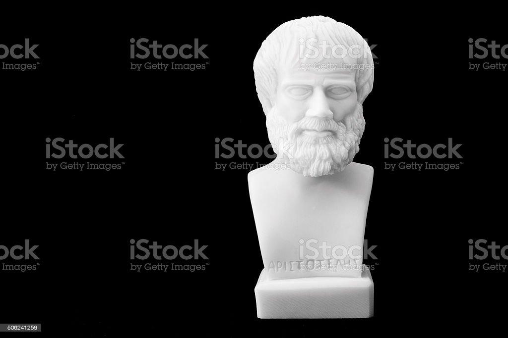 Ancient Greek philosophers stock photo