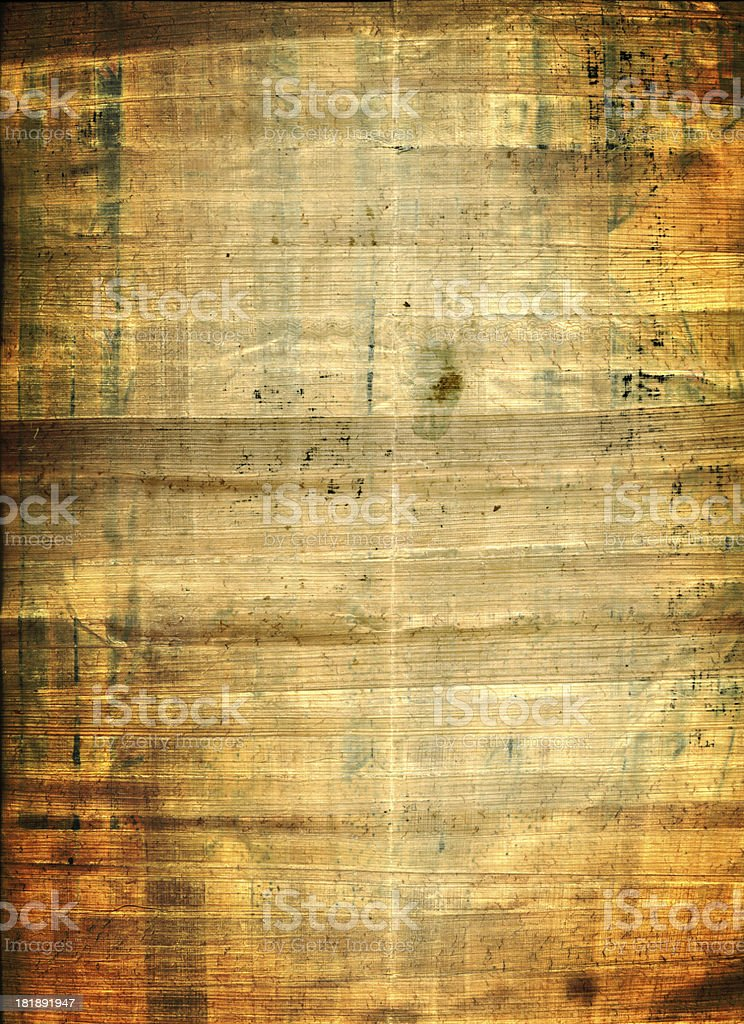 Ancient Grungy Paper royalty-free stock photo
