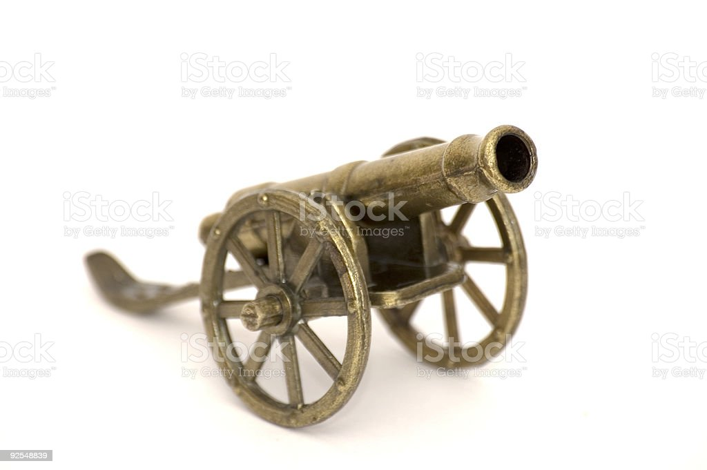 Ancient Gun Machine royalty-free stock photo
