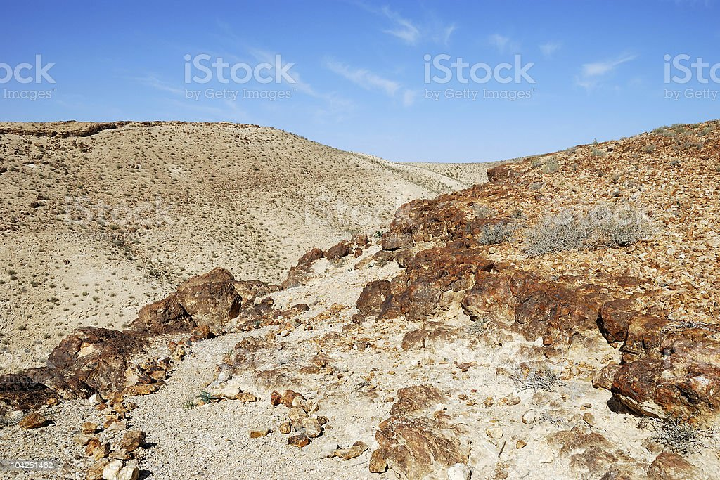 Ancient hills royalty-free stock photo