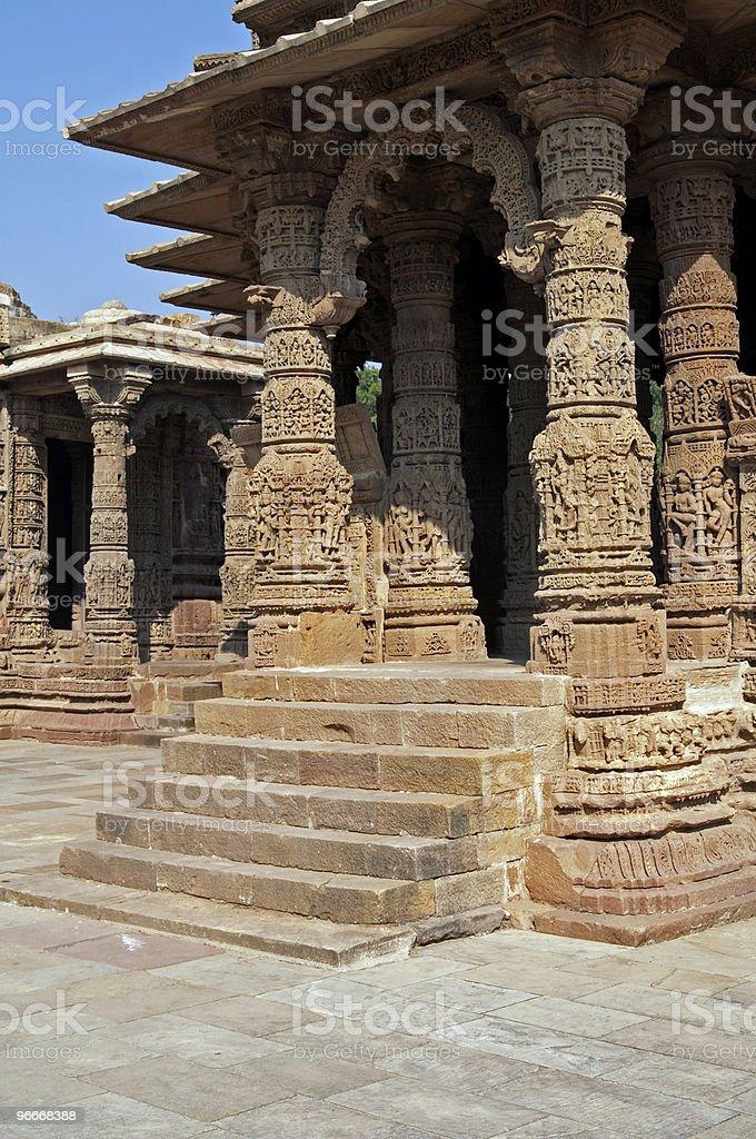 Ancient Hindu Temple royalty-free stock photo