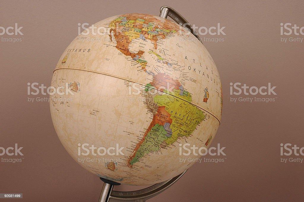 Ancient Historical Globe stock photo