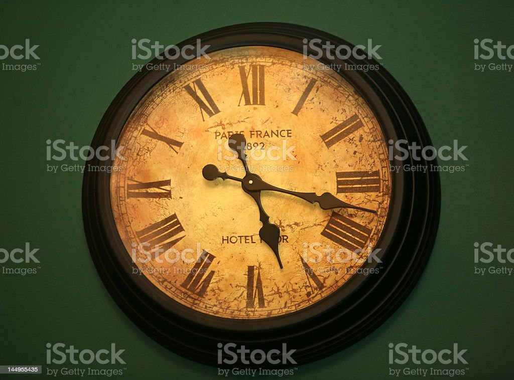 Ancient hours still go royalty-free stock photo