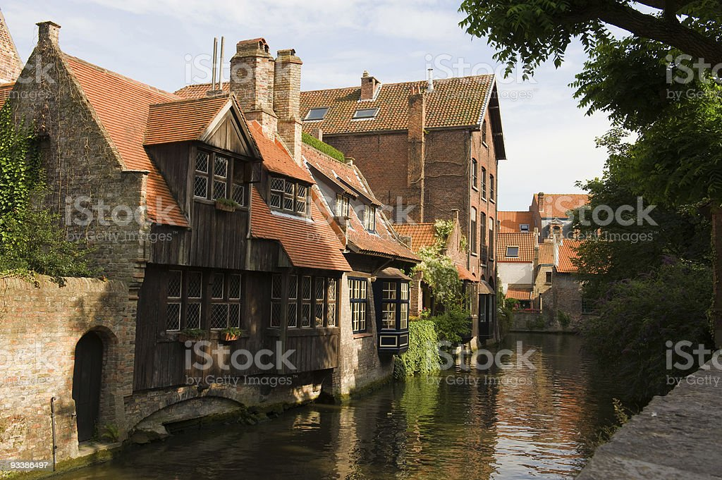 ancient houses royalty-free stock photo