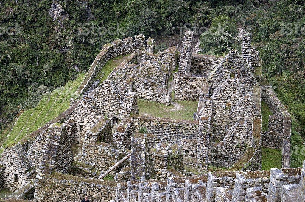 Antiguas ruinas Inca foto de stock libre de derechos