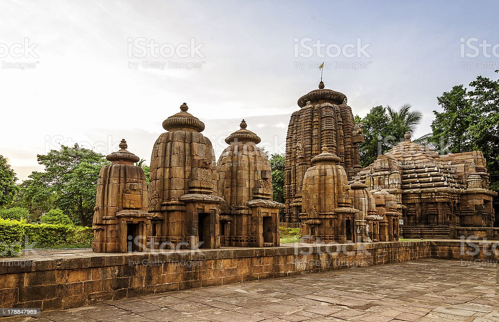 Ancient Indian Temples stock photo
