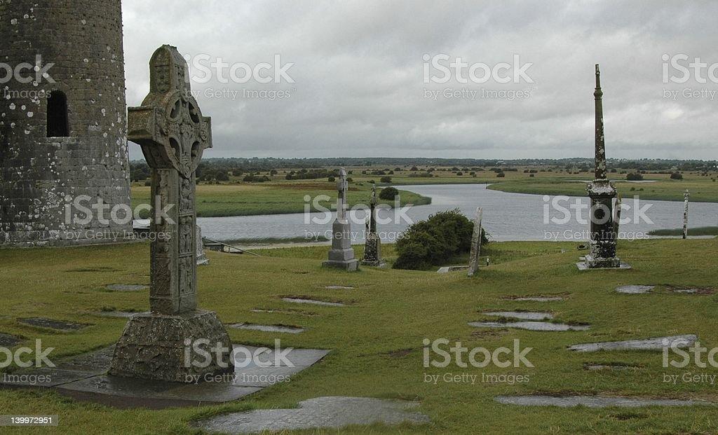 Ancient Ireland stock photo