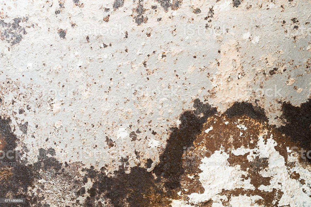 Ancient iron surface effect with weather stock photo