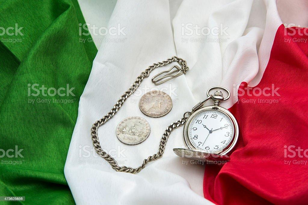 Ancient Italy stock photo