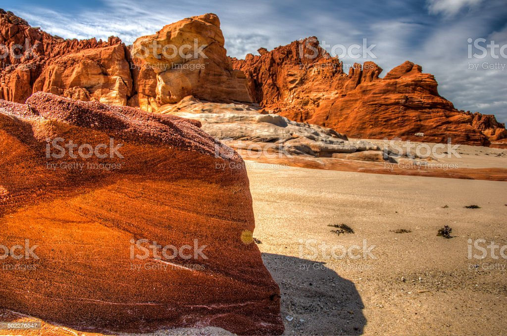 Ancient Landscape Australia stock photo