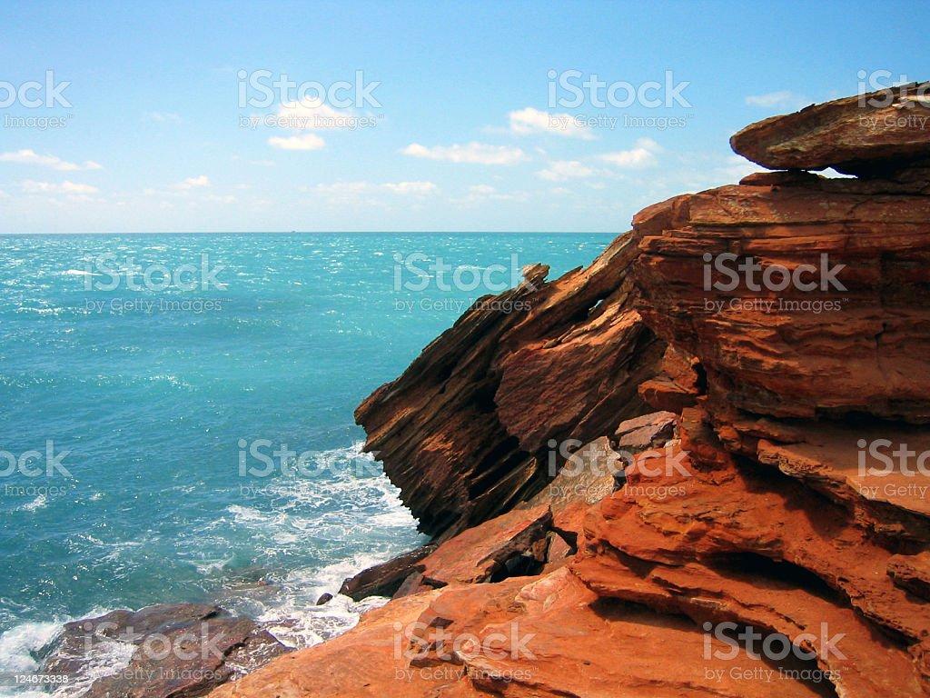 Ancient Landscape stock photo