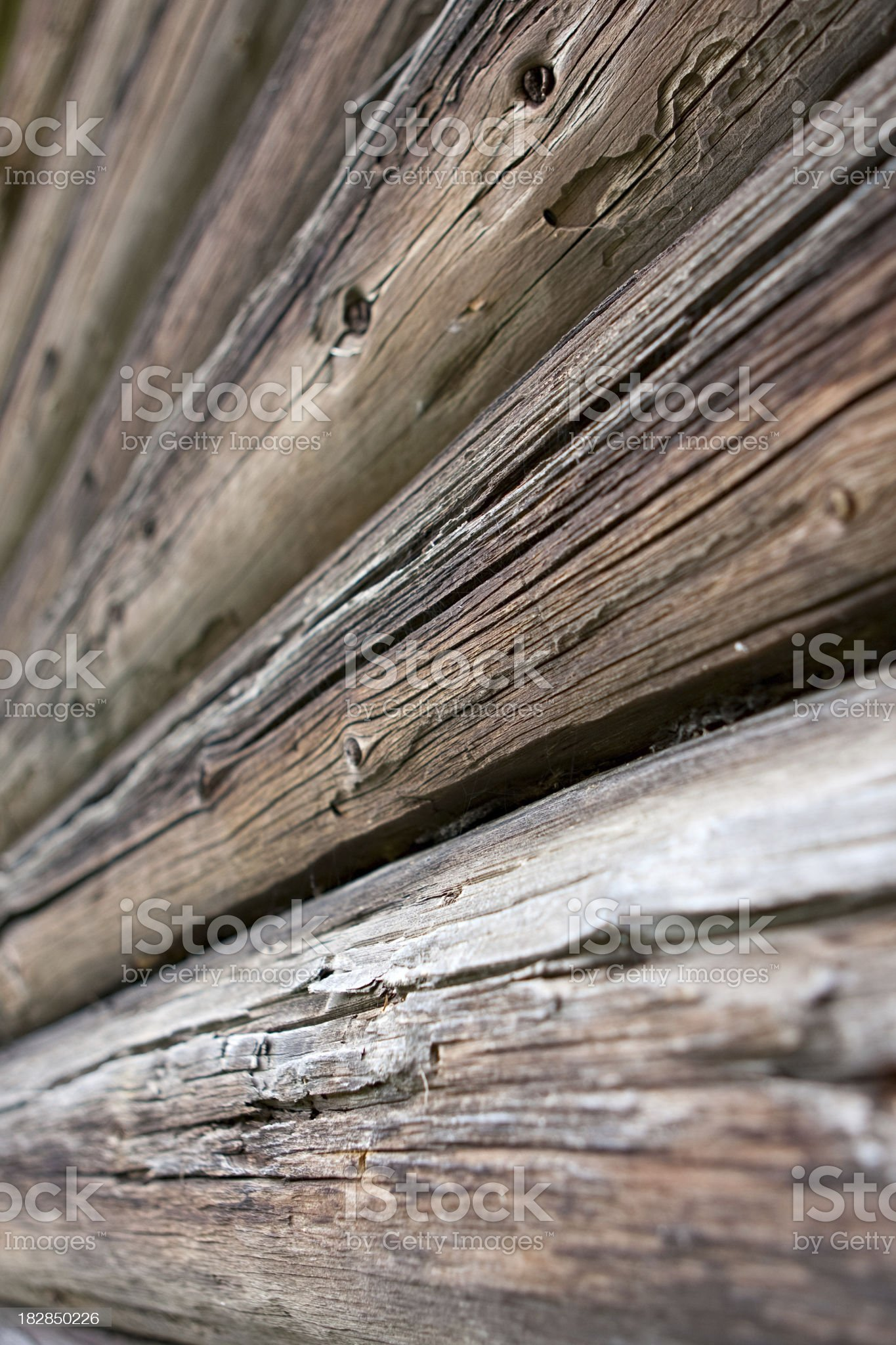 ancient logs royalty-free stock photo