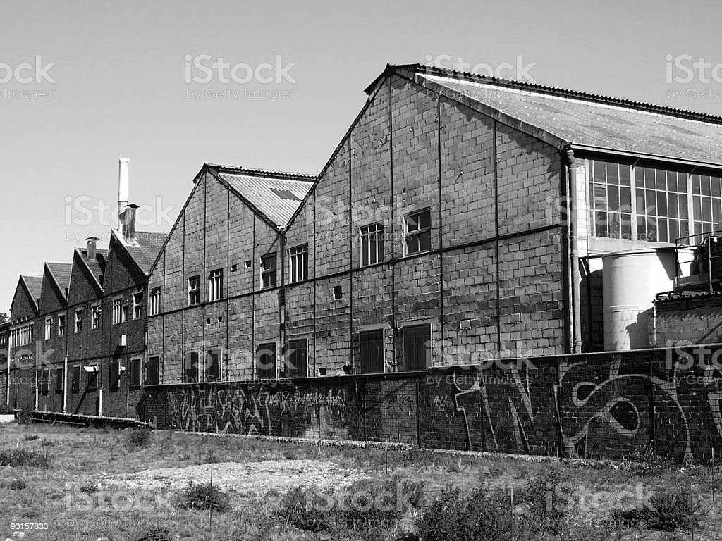 Ancient manufacture stock photo