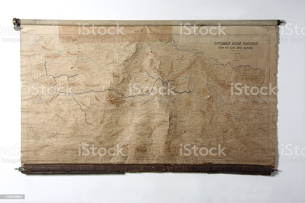 ancient map royalty-free stock photo