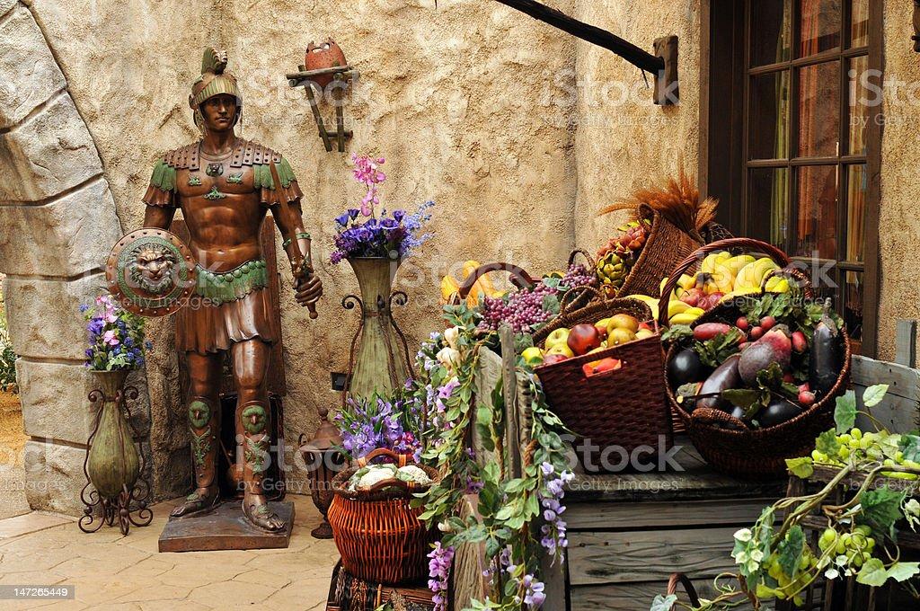 Ancient Market royalty-free stock photo