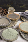 Ancient minerals - clay powder and mud mask