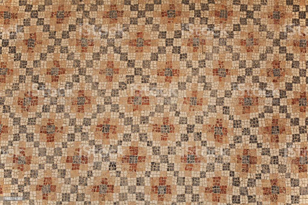 Ancient Mosaic Background stock photo