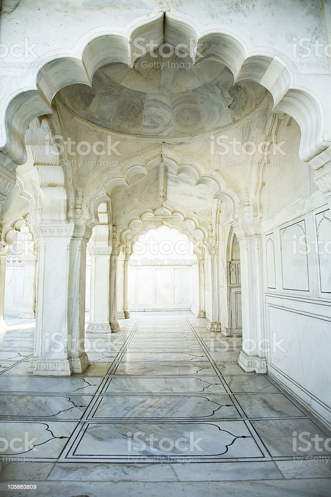 Ancient mosk stock photo