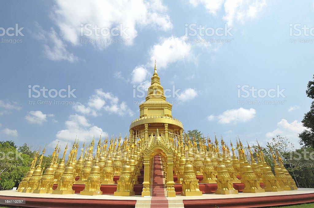 Ancient pagoda architecture royalty-free stock photo