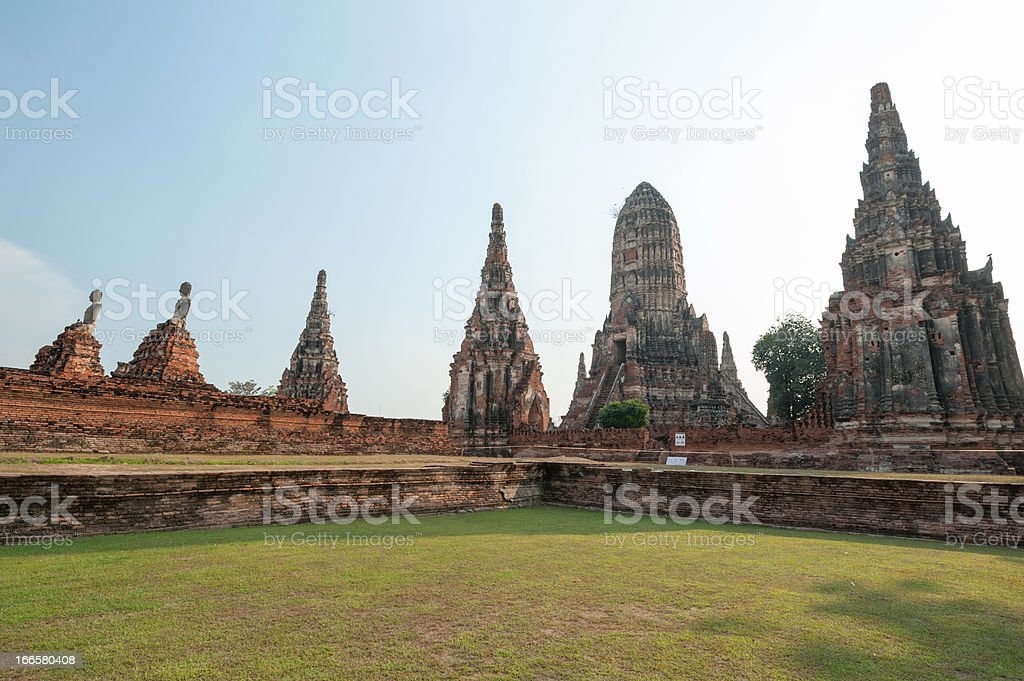 Ancient pagoda architecture royalty-free stock photo