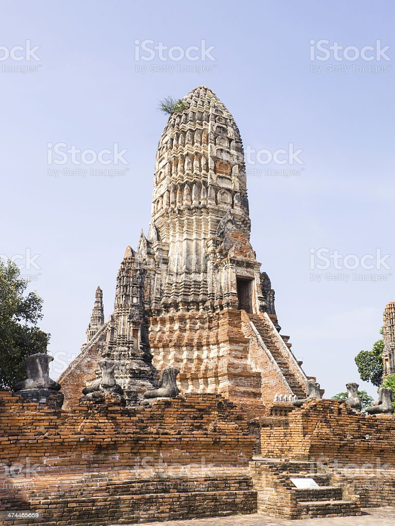 ancient pagoda royalty-free stock photo