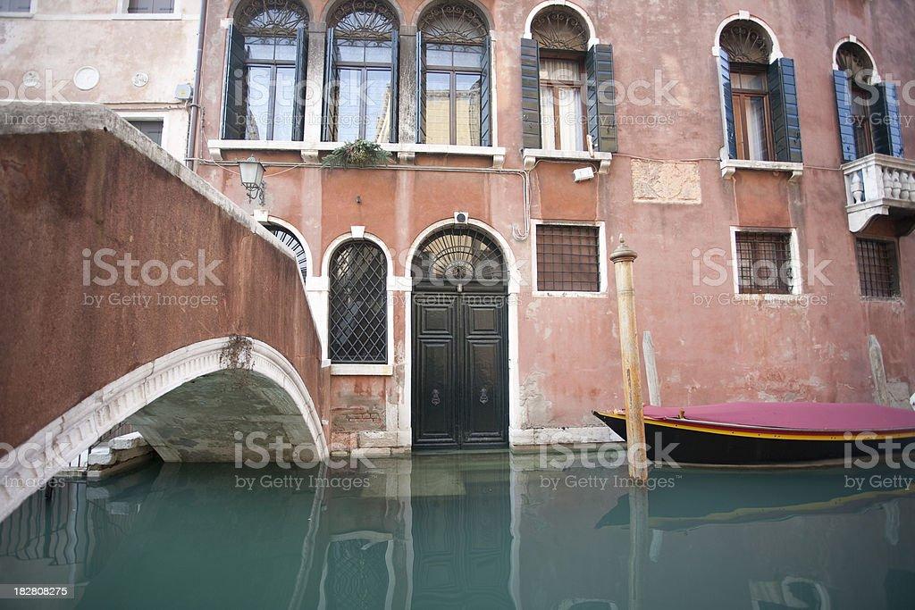 Ancient palace facade royalty-free stock photo