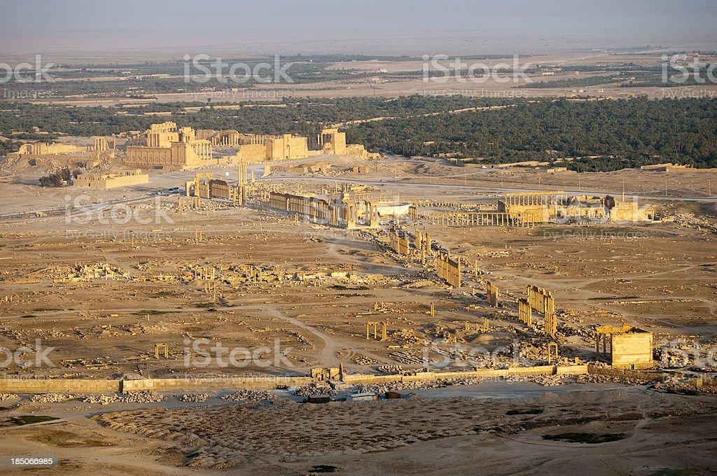 Ancient Palmyra Syria royalty-free stock photo